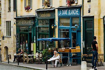 Parijs straatbeeld van René Groenendijk