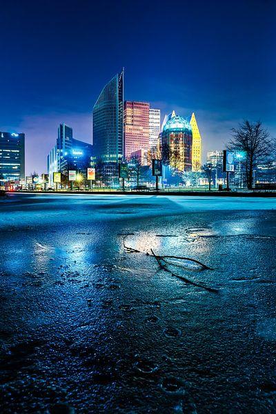 Den Haag bij Nacht  van Etienne Hessels