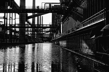 Zollverein-mijn - Cokesfabriek van Petra Dreiling-Schewe