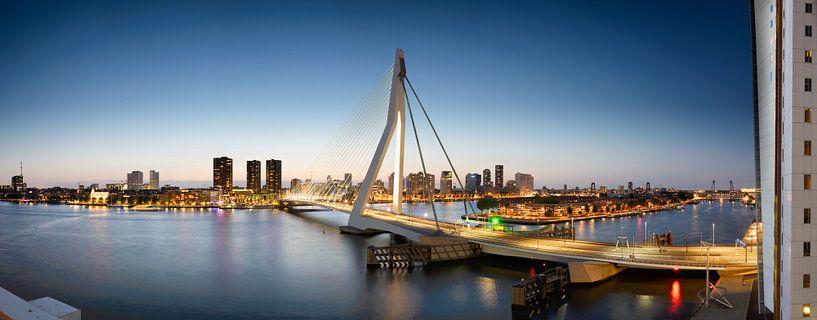 Panorama Rotterdam van Sjoerd Mouissie