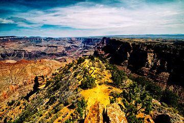 das Ende eines schönen Tages am Grand Canyon von Studio de Waay