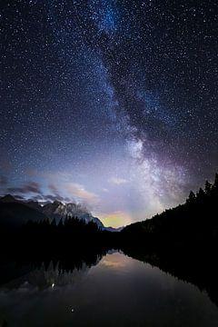 Melkweg in het Karwendelgebergte, Melkweg in het Karwendelgebergte, Melkweg van Karin Luttmer