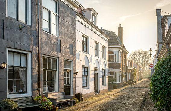 De Middenstraat te Weesp van Joris van Kesteren