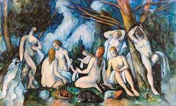 Cézanne, Die großen Badenden (ca. 1895-1906)