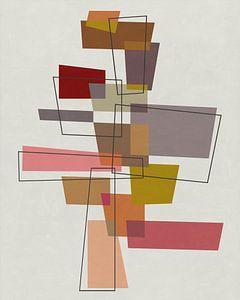 Abstrakte Komposition 1163 von Angel Estevez