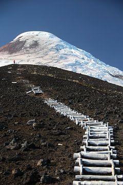 Treppe zum Himmel, Vulcán Osorno, Chile von A. Hendriks