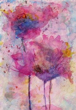 Florale sur Angel Estevez