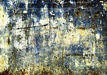 Abstracte muur: zonder leven sur