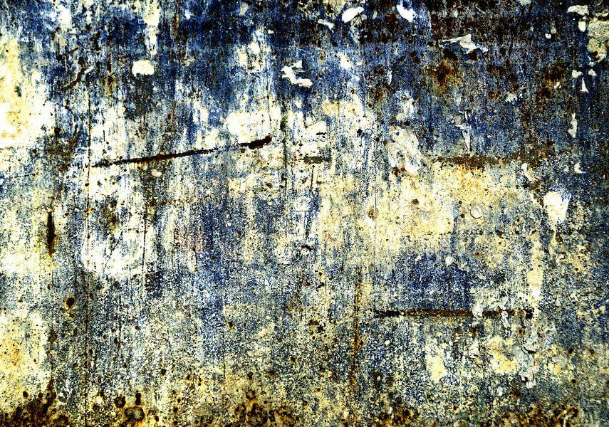 Abstracte muur: zonder leven