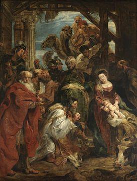 Die Anbetung der Könige, Peter Paul Rubens