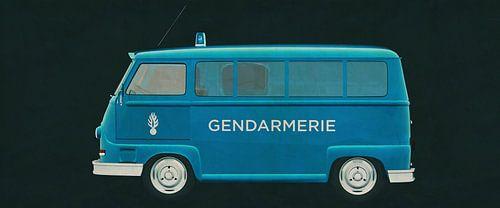 Renault Estafette 800 1965 von Jan Keteleer