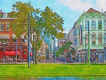 Rotterdam, Van Oldenbarneveltstraat van