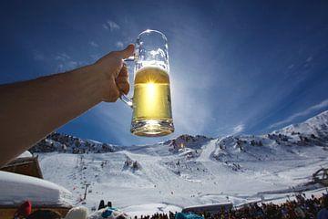 Après-ski Bier von Guy Florack