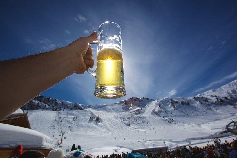 Après-ski Bier van Guy Florack