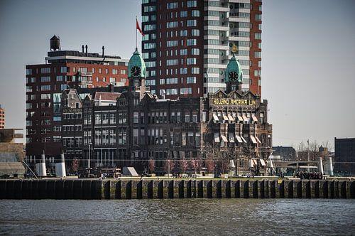 Foto van het gebouw van de Holland America Lijn