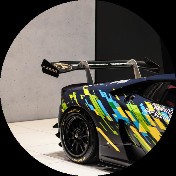 Lamborghini Huracan Super Trofeo van joost prins