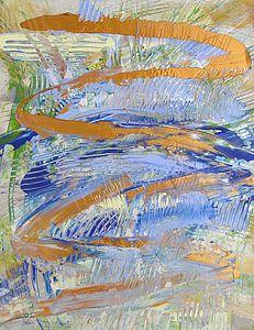Abstract landschap 110115
