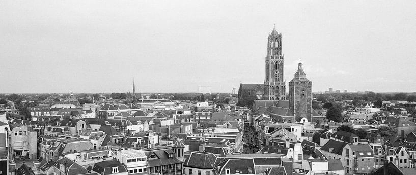 Utrecht, Skyline met de prachtige Dom van Origami Art