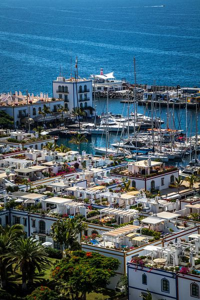 Puerto de Mogán, Gran Canaria van Helga van de Kar