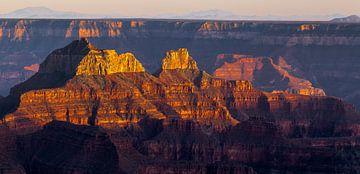 Sonnenuntergang im Grand Canyon von Peter Leenen
