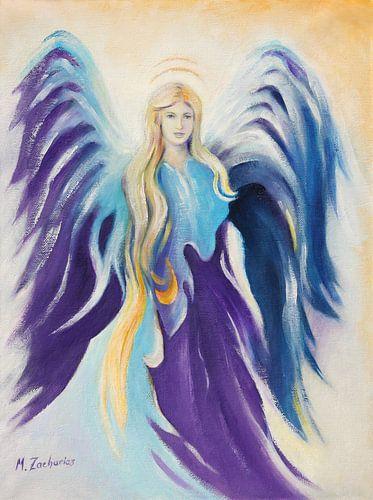 Angel Inspiration - met de hand beschilderd engelen beelden van Marita Zacharias