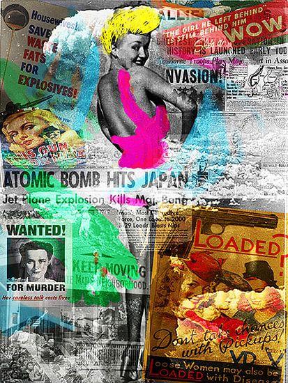 Betty Grable Pop Art Canvas
