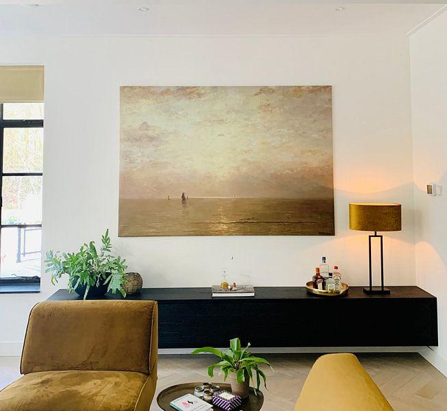 Kundenfoto: Sonnenuntergang, Hendrik Willem Mesdag