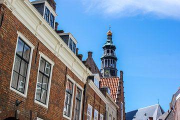 Nederlandse skyline Sint Bavokerk - Haarlem van Erik Koks