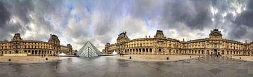 Panorama du Louvre à 360 sur Dennis van de Water