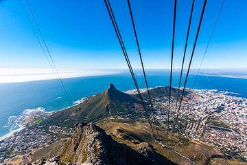 Kapstadt mit der Seilbahn auf den Tafelberg von Easycopters