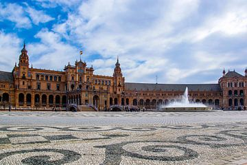 Plaza de Espana Sevilla van Justin Travel