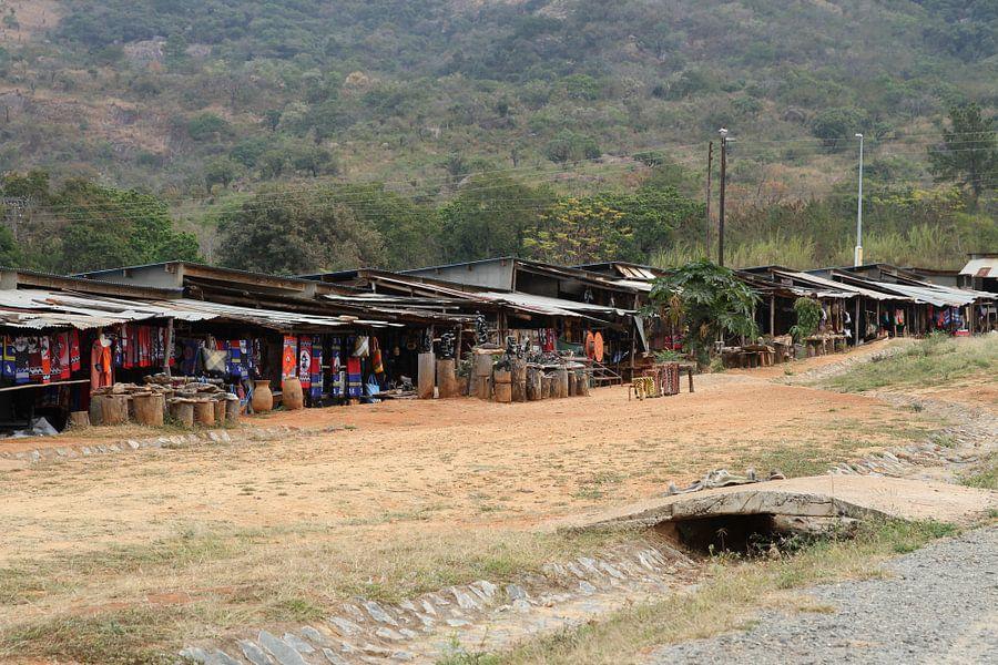 markt zuid afrika van Jeroen Meeuwsen