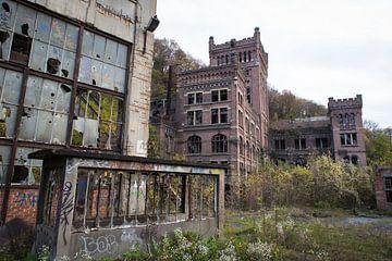 Verlassene Kohlengrube Außengebäude Hasard Cheratte von Ger Beekes