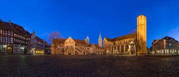 Burgplatz Braunschweig Panorama van Patrice von Collani