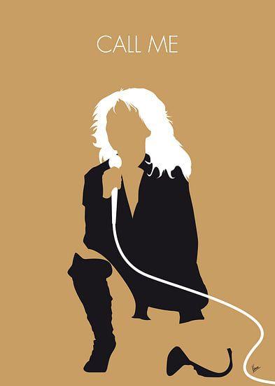 No030 MY Blondie Minimal Music poster