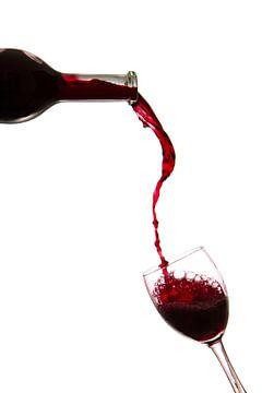 Rotwein von Nele Mispelon
