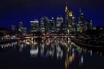 Frankfurt at night von Jay Ray