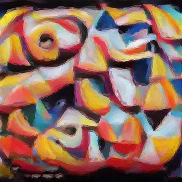 Abstrakte Inspiration XXXX von Maurice Dawson