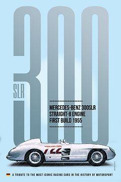 Mercedes 300SLR Mille Miglia van Theodor Decker