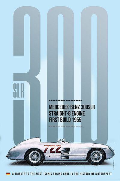 Mercedes 300SLR Mille Miglia von Theodor Decker