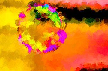 Colorful bubble van Marcel Kieffer