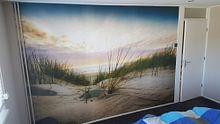 Klantfoto: Heaven van Anthony Malefijt, als behang