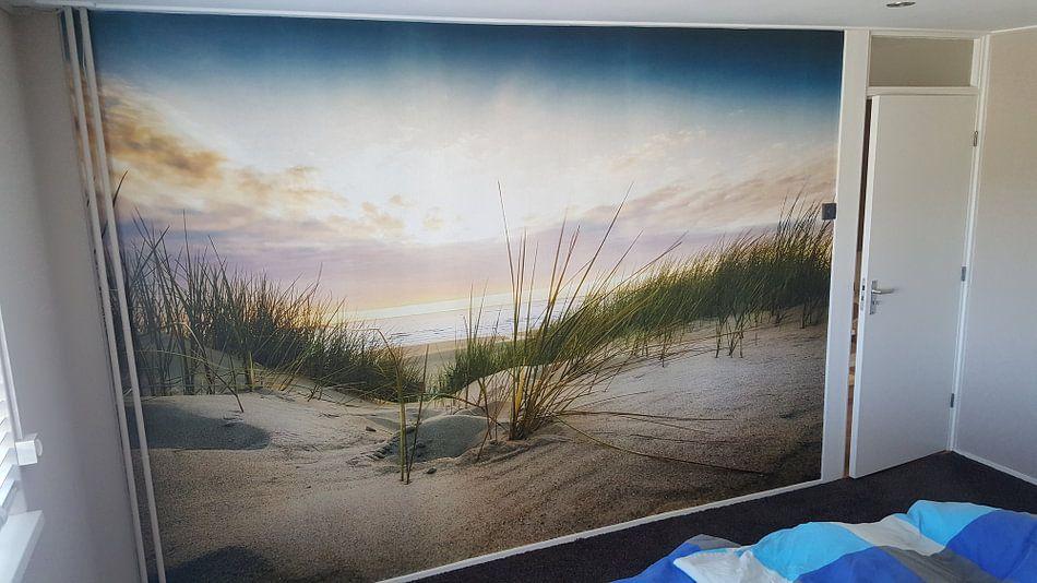Klantfoto: Heaven van Anthony Malefijt, op behang