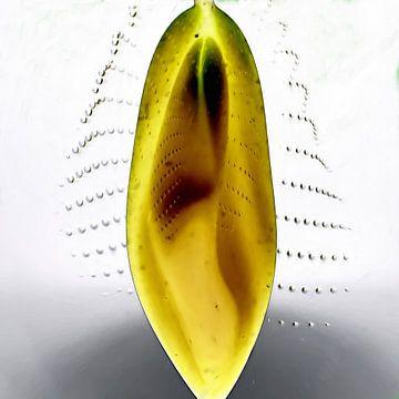 Abstract in geel van Maurice Dawson
