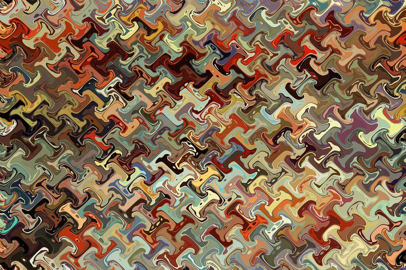 Abstrakt Nr 09 von Marion Tenbergen