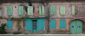 la maison verte sur Yvonne Blokland