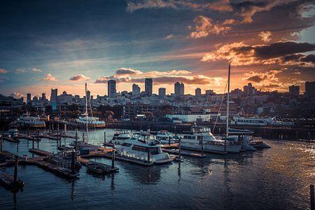 Hafen von San Francisco von Rolf Linnemeijer