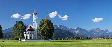 Wallfahrtskirche St.Coloman,  Allgäu, Bayern, Deutschland von Markus Lange