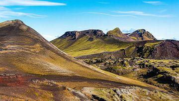 Bergen in IJsland van Thomas Heitz
