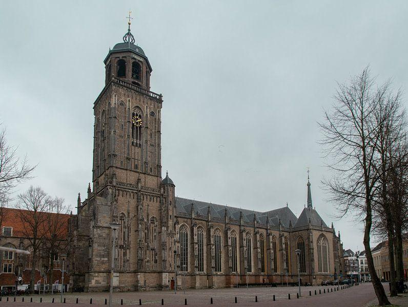 Grote of Lebuïnuskerk, Deventer van Ingrid Aanen